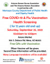 2021 Fall Vaccination Events posters